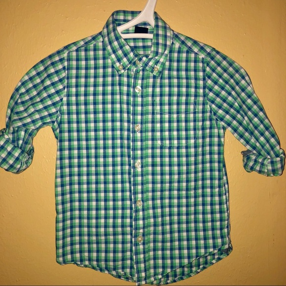GAP Other - Boys Baby Gap Plaid checkered Button Up